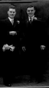 Harold Palmer and Tom Palmer